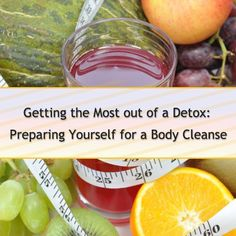 "If you're going to do a detox; you should know where to start! Getting the most out of a detox, whether at home or at a health retreat, means you should prepare for your cleanse. It's not difficult, but will help to relax the digestive system and  prevent ""withdrawal"" symptoms associated with high intakes of sugar, caffeine, alcohol and cigarettes. Click the image to read more! #detox101 #detoxadvice #preparingforadetox"