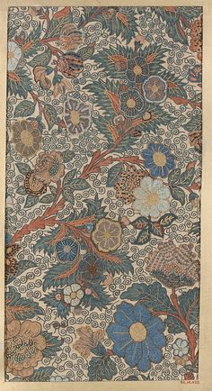 Piece  Date: 18th–19th century Culture: Japan Medium: Silk Dimensions: 13 1/4 x 6 3/4 in. (33.66 x 17.15 cm) Classification: Textiles-Embroidered