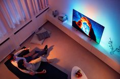 - Enrich your viewing with the Philips 803 OLED TV. Experience a sharper UHD picture and a wider viewing angle. This smart TV won't take over your living room-unless you want it to.