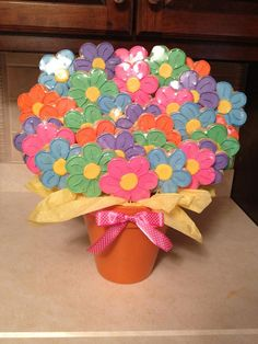 Giant Flower Cookie Bouquet by SugarMeSweetConfections, via Flickr