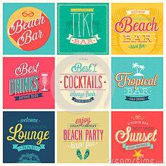 Beach Bar set