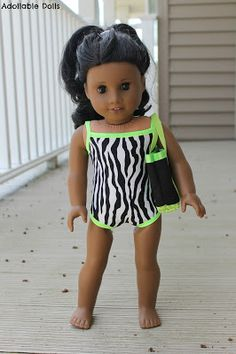 Adollable Dolls: GIVEAWAY and Review: Summer in a Swimsuit