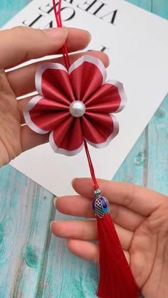 Cool Paper Crafts, Paper Flowers Craft, Paper Crafts Origami, Origami Paper, Flower Crafts, Diy Crafts Hacks, Diy Crafts Jewelry, Diy Crafts For Gifts, Diy Arts And Crafts