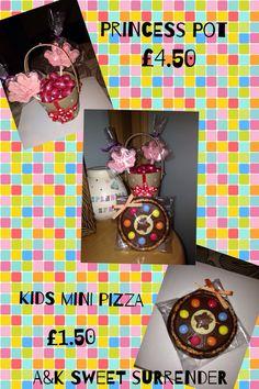 Kids chocolate mini pizza princess lolly's pink eggs xx
