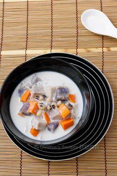 摩摩喳喳【馬來甜品冷熱佳宜】Bubur Cha Cha from 簡易食譜