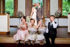 How cute!!! Photo by Kim. #minneapolisweddingphotographers #weddingphotographersmn #kidsinweddings #bride #groom