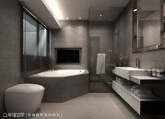 Modern Luxury Bathroom, Modern Master Bathroom, Bathroom Design Luxury, Bathroom Layout, Dream Bathrooms, Modern Bathroom Design, Luxurious Bathrooms, Bathroom Ideas, Bathroom Design Inspiration