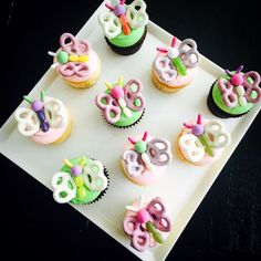 Get creative and decorate your cupcakes with candy
