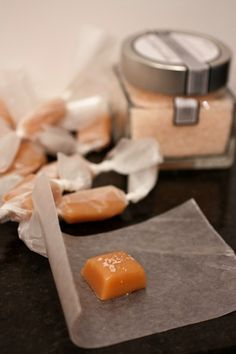 Salted Chewy Caramel Candy Recipe