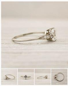 Tiffany Vintage engagement ring