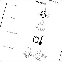 The free beach resource from the makaton website