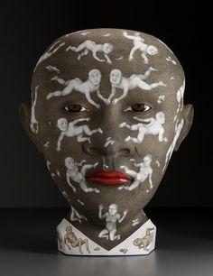 Ceramic sculpture by Sergei Isupov