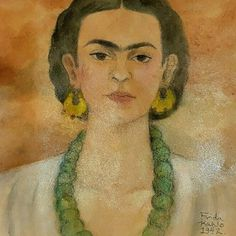 Frida Kahlo-Mixed Media on Heavy Stock Paper Signed 1942 - Signed Galeria Mexicana Mexican Wall Art, Mexican Home Decor, Mexican Paintings, Program Design, Wall Art Decor, This Is Us, Mixed Media, Paper, Artwork