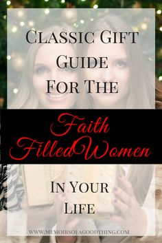 I have compiled a gift buying guide for the faith filled women in your life! 2016 *Contains Affiliate Links*