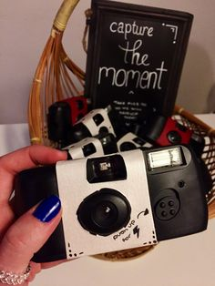 diy personalized disposable camera covers diy pinterest disposable camera and weddings. Black Bedroom Furniture Sets. Home Design Ideas