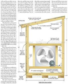 Solar Kiln Plans - Woodworking Techniques