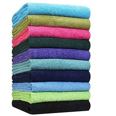 Our multipurpose hand towels are commercial grade with #high absorbency and soft feel. They are ideal for a spa or salon and are safe on skin and hair. #Durable a...