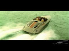 FEARLESS YACHTS by PORSCHE DESIGN - Luxury Speed Boat - YouTube