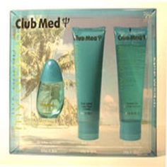 Club Med My Ocean For Her 3 Piece Gift Set by Club. $29.09. Club Med MyOcean for Her is a blend of tarragon, cedar and mint.Gift set includes:1.0 fl oz Eau de Toilette Spray4 fl oz Body Lotion4 fl oz Shower Gel