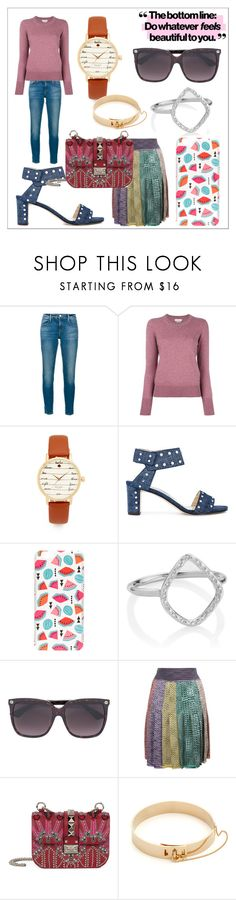 """fashion fades"" by kristeen9 ❤ liked on Polyvore featuring Frame, Kate Spade, Jimmy Choo, Milkyway, Monica Vinader, Gucci, Missoni, Valentino and Eddie Borgo"