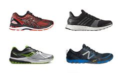 It's essential to find the right pair of running shoes. We've brought together a men's selection of the best on the market, to cater for a range of needs.