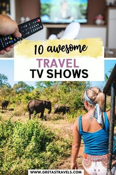 Stuck at home wishing you were travelling instead? Discover the 10 funniest, most inspirational and entertaining travel TV shows to fuel your wanderlust! Travel Info, Travel Advice, Travel Tips, His Travel, Family Travel, Travel Movies, Things To Do At Home, Virtual Travel, Road Trip Hacks