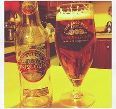 Innus & Gunn , such a great Scottish beer