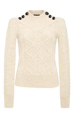 Organic Wool Dustin Zermatt Cable Knit by ISABEL MARANT Now Available on Moda Operandi