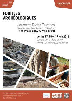 Portes ouvertes sur le chantier des fouilles archéologiques, les 18 et 29 juin 2016