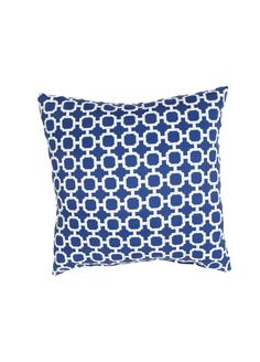 These fashion forward pillows, in trellis, stripes and whimsical patterns are for both indoor and outdoor use.
