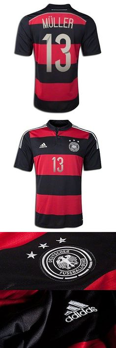Soccer-National Teams 2891: Adidas Thomas Muller #13 Germany 2014 Fifa World Cup Brazil Away Soccer Jersey -> BUY IT NOW ONLY: $59.99 on eBay!