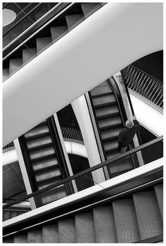 "line, pattern, composition, moment /""Stairways"" by Rainer Burkard, via 500px."