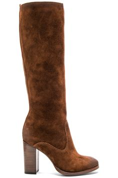 Frye Claude Tall Boot in Brown