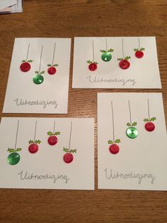 - New Ideas : (notitle) Christmas Card Crafts, Homemade Christmas Cards, Christmas Drawing, Christmas Cards To Make, Christmas Tag, Homemade Cards, Holiday Crafts, Button Crafts, Ideas Geniales