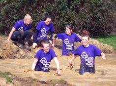 Last week, staff from our Paediatric and Neonatal Intensive Care Units took part in a muddy challenge to raise money to support Great Ormond Street Hospital. Think you could too? Take on one of our obstacle runs: http://www.gosh.org/gen/events-and-appeals/challenge-events/run/obstacle/