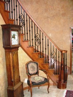 staircase spindles | ... Staircase, Handrails, Custom Stairs, Fine Staircases, Staircase Repair