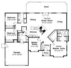 House Plan chp-20001 at COOLhouseplans.com
