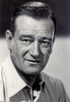 John Wayne . . . . Wonderful John Wayne, my hero.