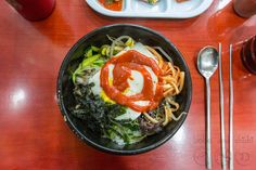 One of our favorite Korean meals! Dolsot Bibimbap!!!! Featuring Korea's Famous Dolsot Bibimbap for Tasty Tuesday