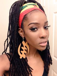 Locs and EARRINGS!!!