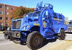 Columbia Police SWAT vehicle