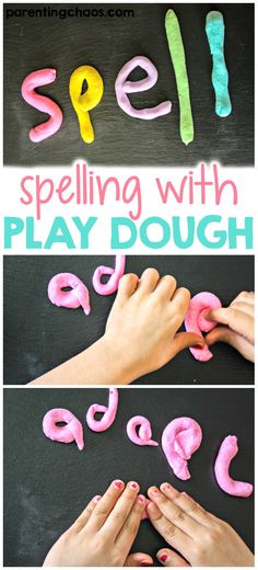 Spelling with Play D