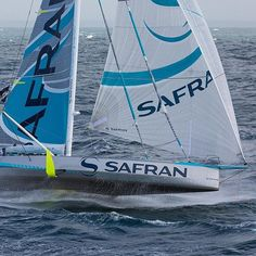 Mighty IMOCA60 @safransailingteam is back on track in the New York - Vendée (les sables d'olonne) race, and solo sailor Morgan Lagravière up in 10th place today following his technical pitstop in @newportshipyard ! Track the boats on www.ny-vendee.com/en/race-tracker 📷 @jeanmarieliot - Safran #oceanmasters #IMOCA #NYVendee #oceanracing #transatlantic #solosailors #bestsailors #fullgear #bestboats #foiling #safran #sailing #sailfast #sailinstagram