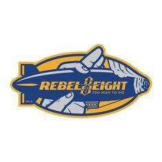 """""""TOO HIGH TO DIE"""" TEES & SNAPBACKS // Shipping worldwide now at REBEL8.com // #SpreadThe8 #REBEL8 #Streetwear #Tees"""