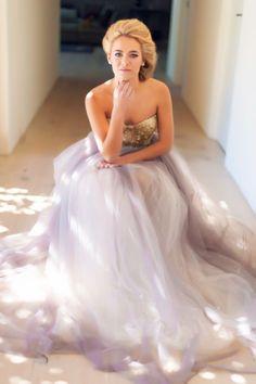 "Swooned: Janita Toerien's Mesmeric ""Amber"" Gown"