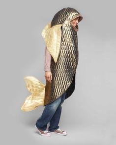 Bigeye Bass Fish Costume for Adults