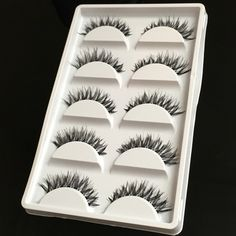 Brand New - 5 Pairs False Eye Lashes Brand new and comes sealed. All orders ship the same day! Makeup False Eyelashes