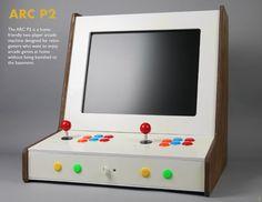 ARC P2 by Gerry Mayer III at Coroflot.com Diy Arcade Cabinet, Bartop Arcade, Arcade Machine, Retro Gamer, Machine Design, Arcade Games, Industrial Design, Cabinets, Games