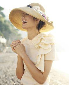 Beautiful hat.