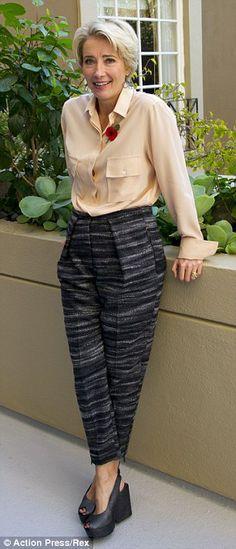 Emma Thompson Outfit - Hľadať Googlom